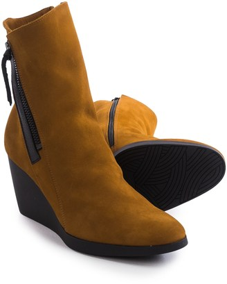 Arche Vitahe Wedge Boots - Nubuck (For Women) $229.99 thestylecure.com