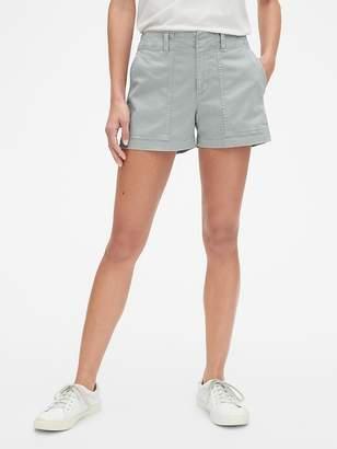 """Gap 3"""" Utility Woven Stripe Shorts"""