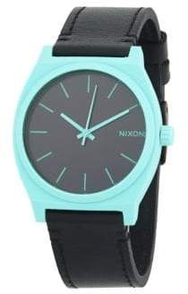 Nixon Time Teller Stainless Steel Quartz Strap Watch