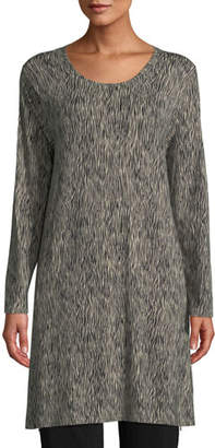 Masai Gritis Long-Sleeve Printed Tunic