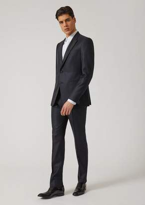 Emporio Armani Virgin Wool And Silk Tuxedo