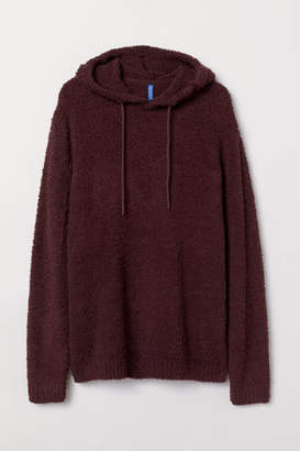 H&M Pile Hooded Top - Red