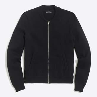 J.Crew Factory Bomber sweater-jacket