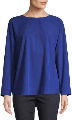 Eileen Fisher Long-Sleeve Top