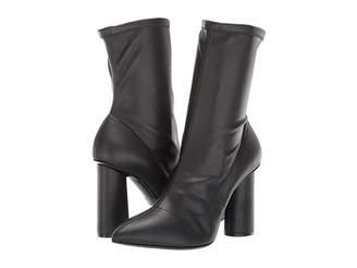 Emporio Armani Stretch Eco-Leather Boot