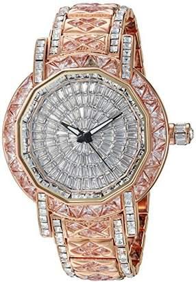 Adee Kaye Men's AK8195-MRGSV Marvel-X Collection Analog Display Swiss Quartz Rose Gold Watch