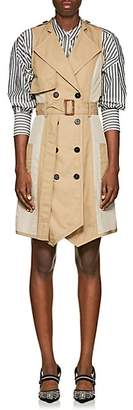 Derek Lam 10 Crosby Women's Cotton Twill Trench Dress - Beige, Khaki