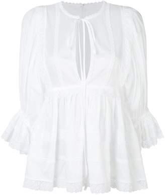 Dolce & Gabbana frill detail tunic