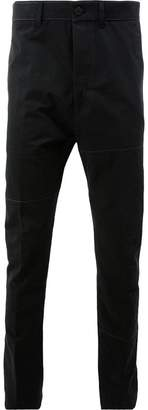 Lanvin panelled trousers