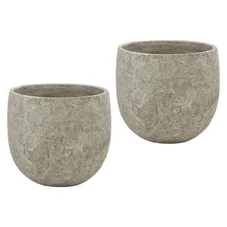 Rogue Antiqued Tub Pot (Set of 2)