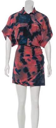 IRO Silk Mini Dress