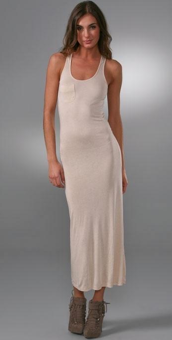 Torn By Ronny Kobo Pocket Tank Dress