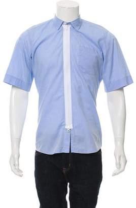 Dries Van Noten Zip-Up Shirt