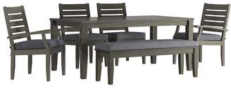HomeVance Outdoor HomeVance Glen View Patio Dining Table