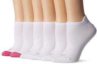 Peds Women's Microfiber Low Cut Socks with Tab Back