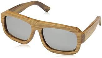 Earth Wood Unisex-Adult Daytona Wood Sunglasses ESG025B Polarized Wayfarer Sunglasses