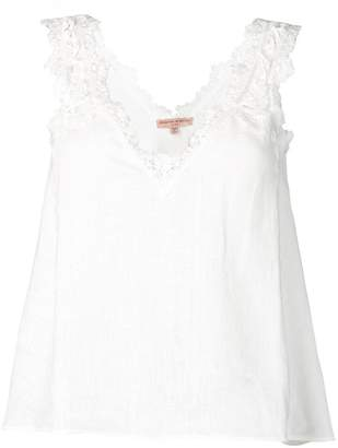 Ermanno Scervino lace detail cami top