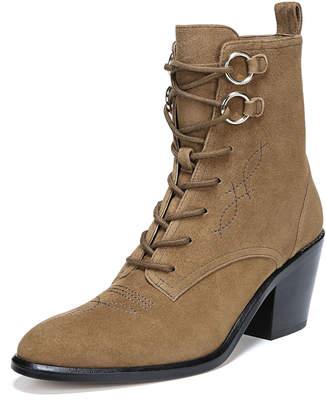 Diane von Furstenberg Dakota Sport Suede Lace-Up Boots
