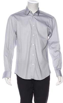 Versace Striped Dress Shirt
