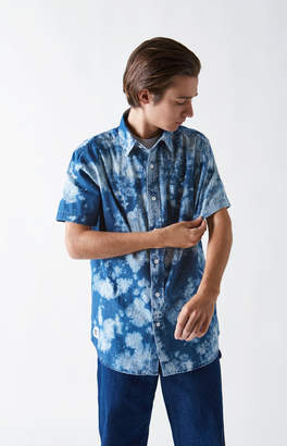 LIRA Bleacher Creature Short Sleeve Button Up Shirt