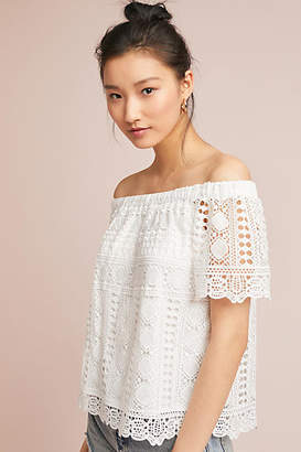 Sunday in Brooklyn Evie Off-the-Shoulder Top