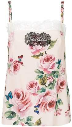 Dolce & Gabbana floral camisole