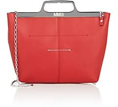 MM6 MAISON MARGIELA Women's Leather Crossbody Bag - Red