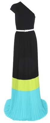 Michael Kors Pleated one-shoulder dress