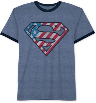 Dc Comics Big Boys Superman-Print T-Shirt