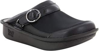 Alegria Leather Open Back Clogs - Seville