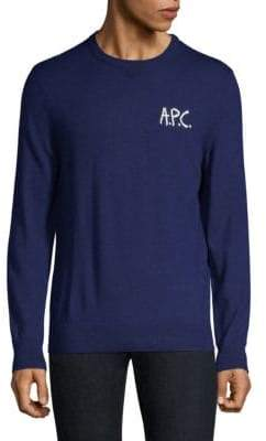A.P.C. Merino Wool Crew Sweater