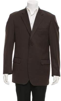 Azzaro 150'S Wool Two-Button Blazer
