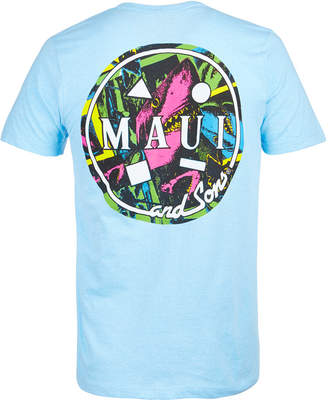Maui and Sons Men's Cookie Collage Logo-Print T-Shirt