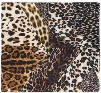 Pierre Louis Mascia Pierre-Louis Mascia leopard printed scarf
