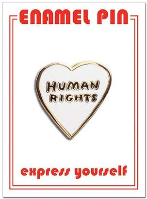 The Found Human Rights Pin