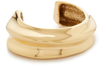 Lizzie Fortunato Sculptural Cuff Bracelet $195 thestylecure.com