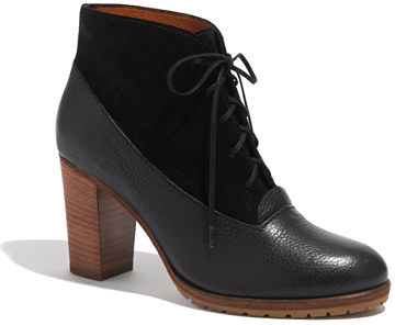 Madewell The Two-Tone Lace-Up Boot