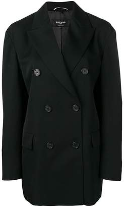 Rochas loose-fit double-breasted blazer