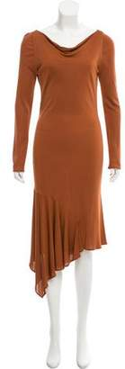 Yigal Y for Long Sleeve Maxi Dress