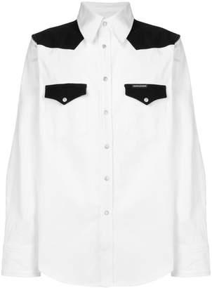 Calvin Klein Jeans denim western shirt