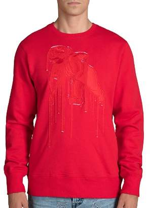 PRPS Goods & Co. Diligent Tonal-Appliqué Sweatshirt