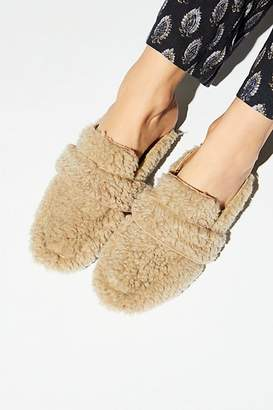 Free People Fp Collection Faux Shearling At Ease Loafer