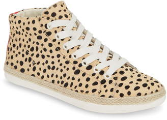 Dolce Vita Akello Espadrille High Top Sneaker