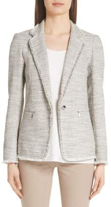 Lafayette 148 New York Lyndon Tweed Blazer
