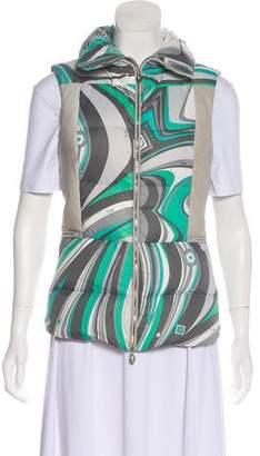Emilio Pucci Printed Puffer Vest