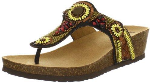 White Mountain Women's Biggy Thong Sandal