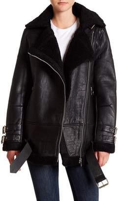 Walter W118 by Baker Adele Faux Fur Leather Jacket