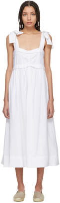 See by Chloe White Tie Shoulder Dress