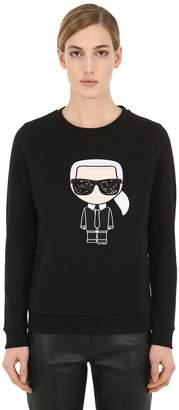 Karl Lagerfeld Ikonik Cotton Sweatshirt