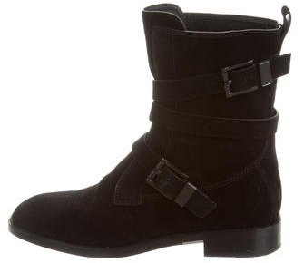 Alexander Wang Alexander Wang Louise Round-Toe Ankle Boots